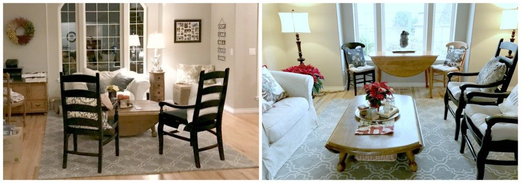 Reimagining Your Space - Living Room Before and After