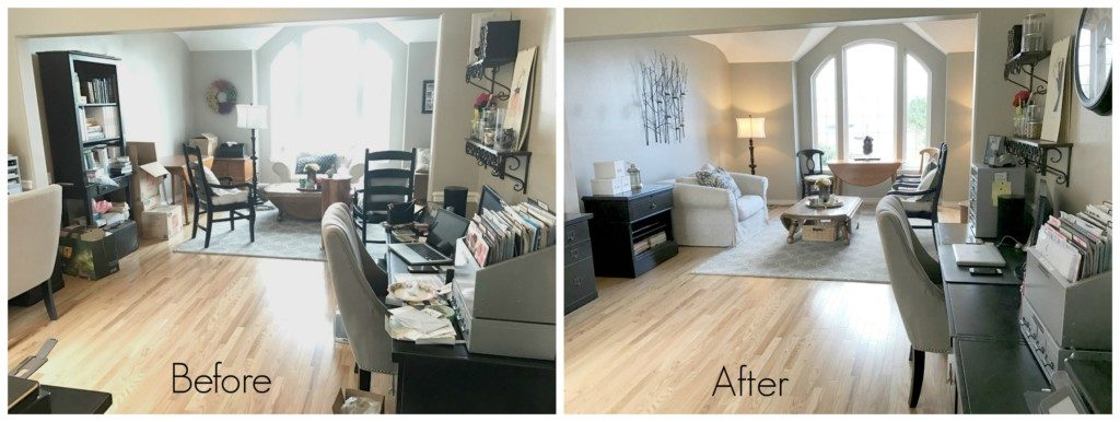 REimagining Your Space before and after
