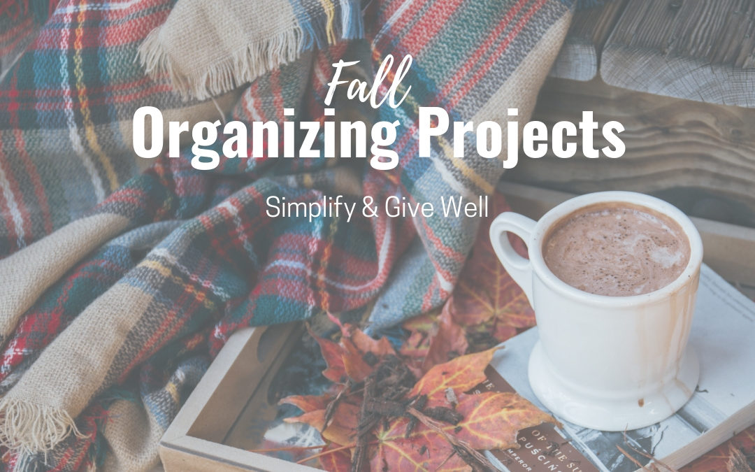 Fall Organizing Projects (PDF Download)