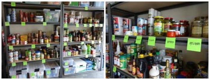 Garage tune up organized shelves