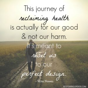 Journey to Reclaimed Health