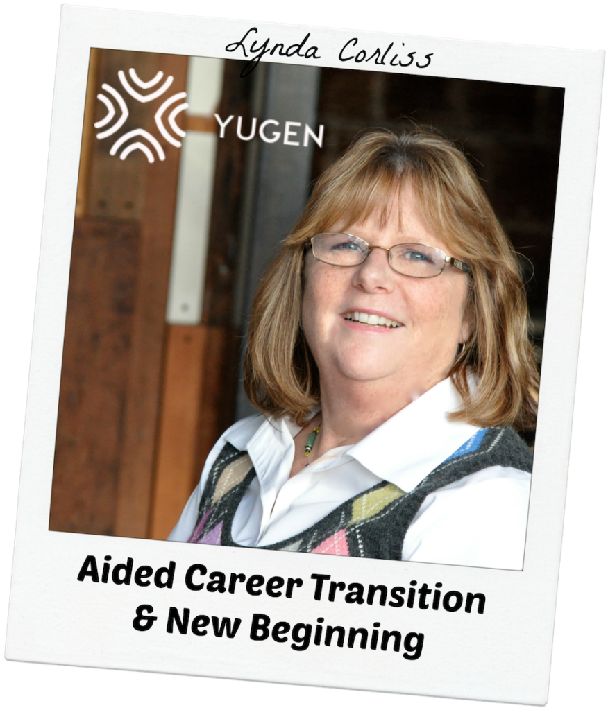 Lynda Corliss - Aided Career Transition & New Beginning