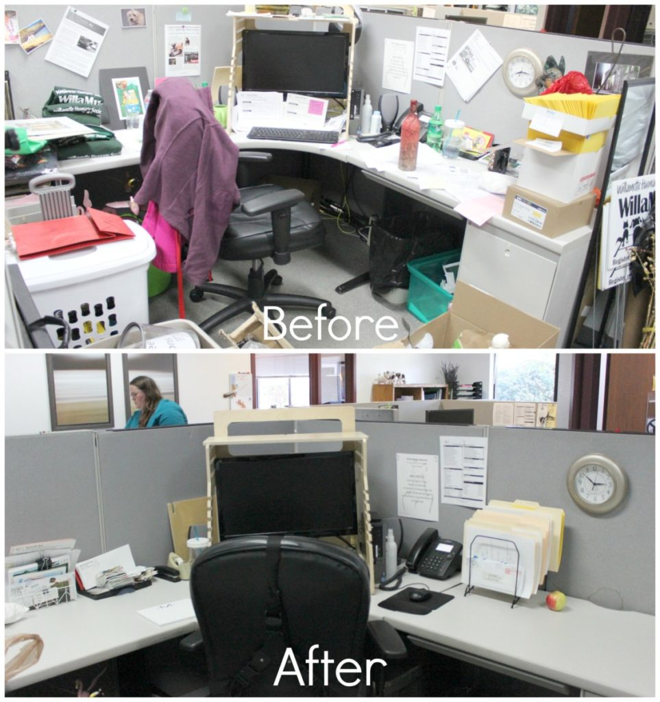 MGDO - WHS Desk Before & After