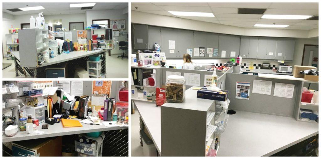 MGDO - WHS Workplace Organized Quadrant Desk