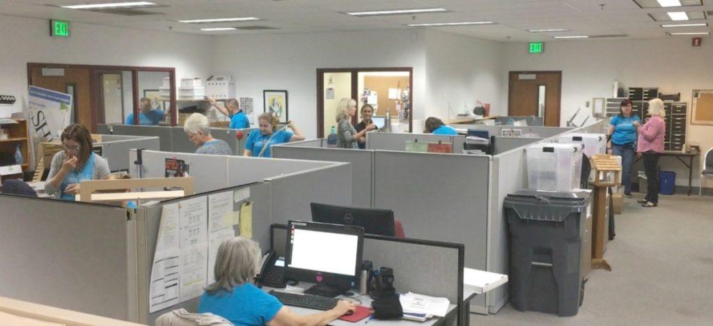 MGDO - WHS Workplace Organized Staff Working