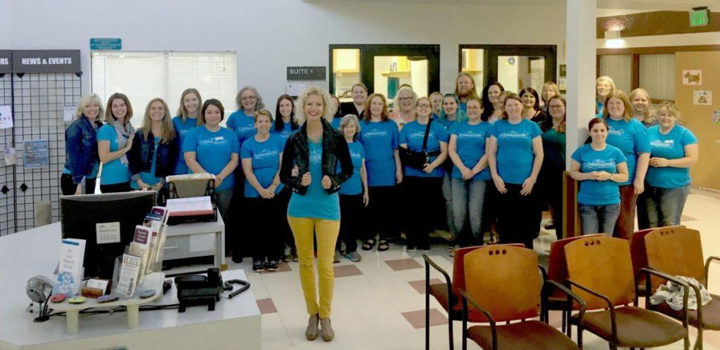 MGDO - WHS Workplace Organized Vicki and Staff
