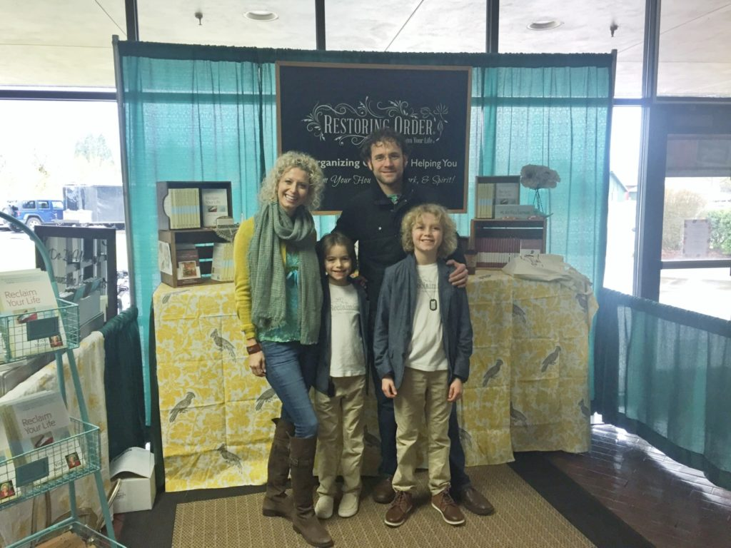 Norris Family at the Eugene Home Show