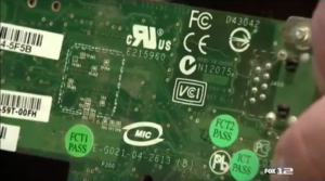 Recycling Old Electronics Circuit Board