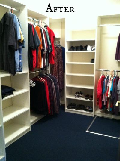 Organized Closet After
