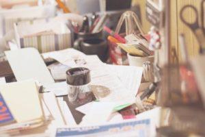 Organizing-Store-Returns-Receipt-Pile