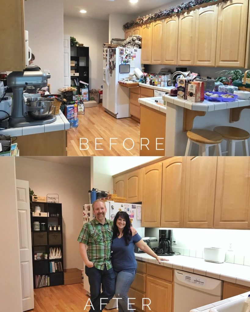 Organizing Your Kitchen and Pantry MGDO - Before & After