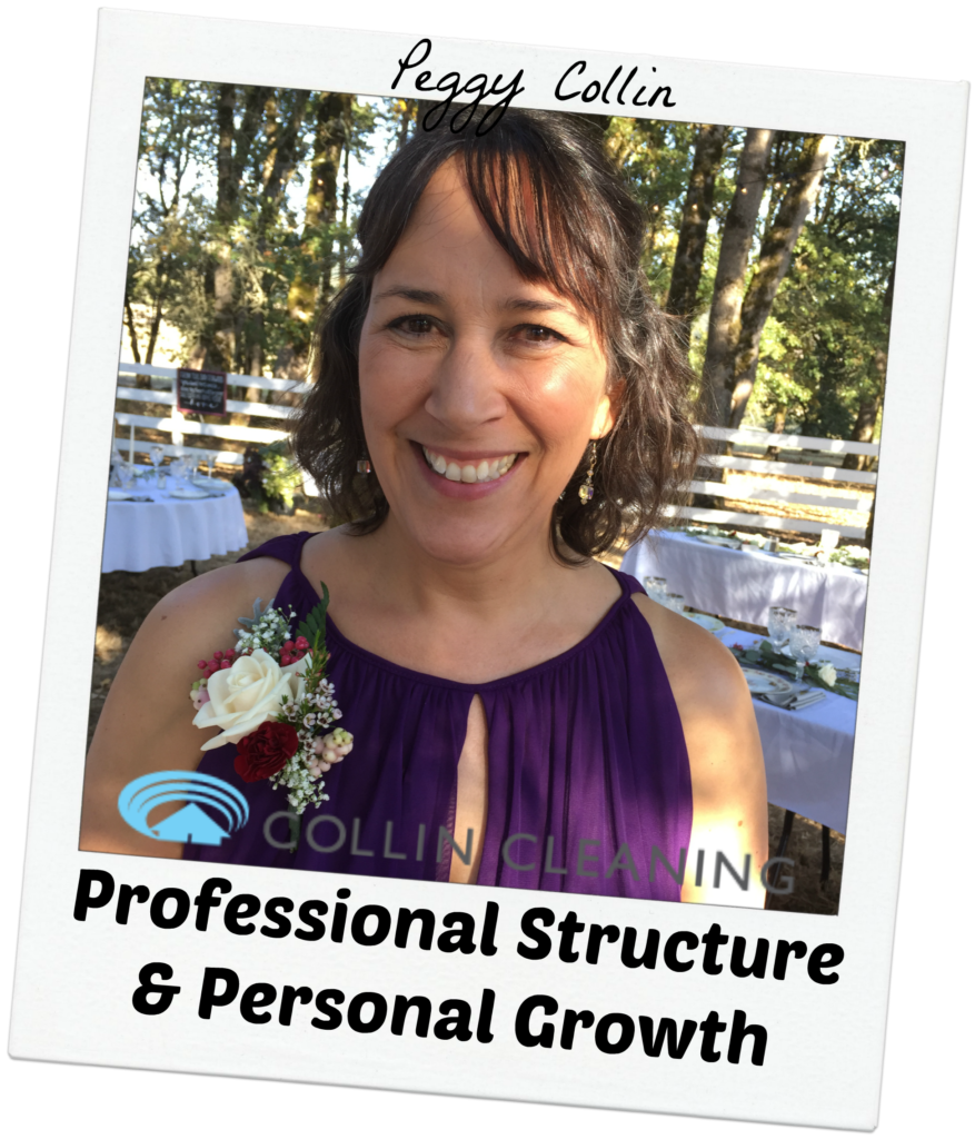 Peggy Collin - Professional Structure & Personal Growth