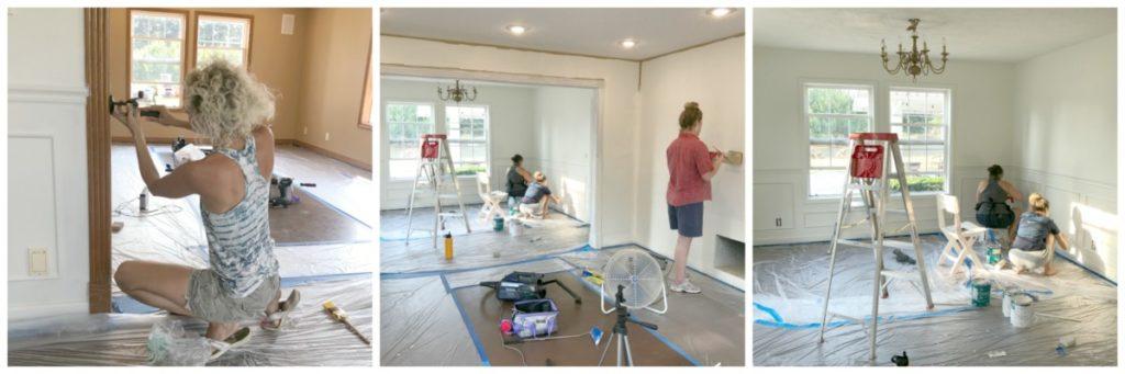 Playroom Transformation - Painting