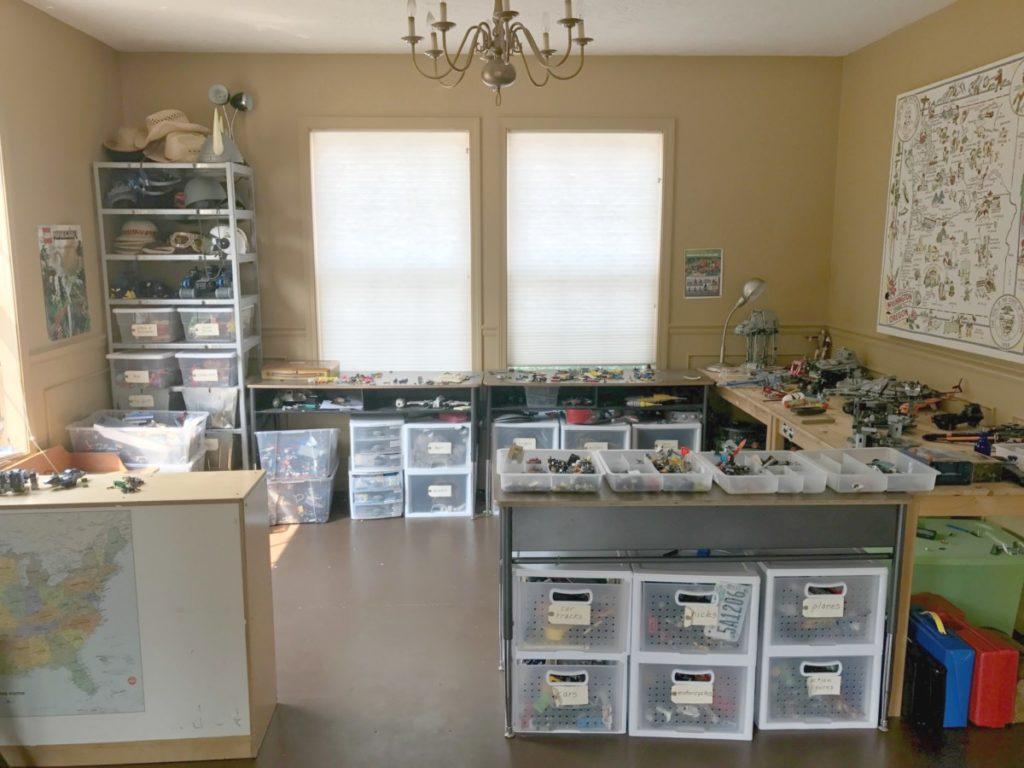 Playroom Transformation - Playroom Before