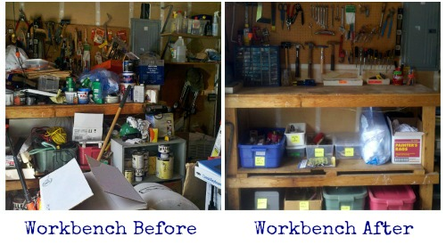 workbench before and after
