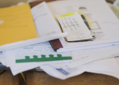 Financial Paperwork: From Receipts to Taxes