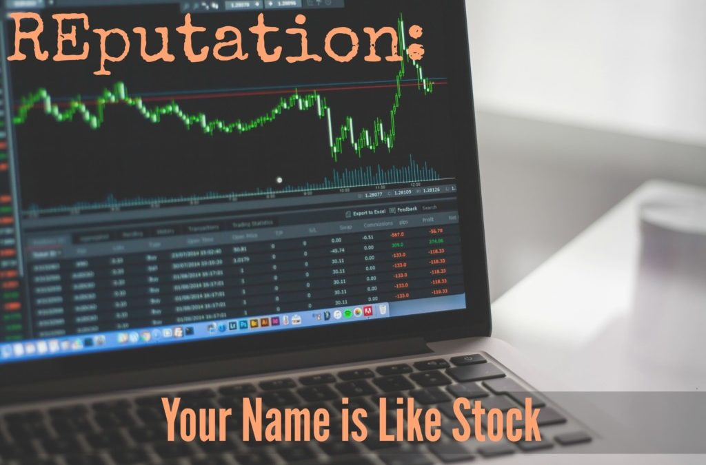 Reputation: Your Name is Like Stock