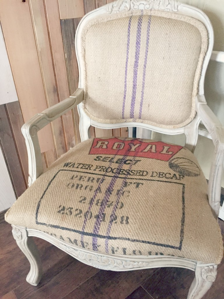 reupholstered-burlap-chair
