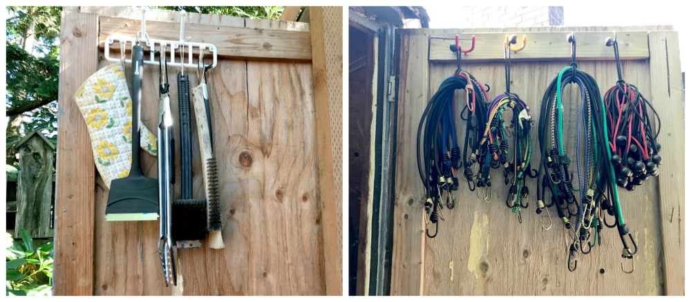 Shed-Organization-Ideas-Bungie-Cords-and-Barbecue-Supplies-
