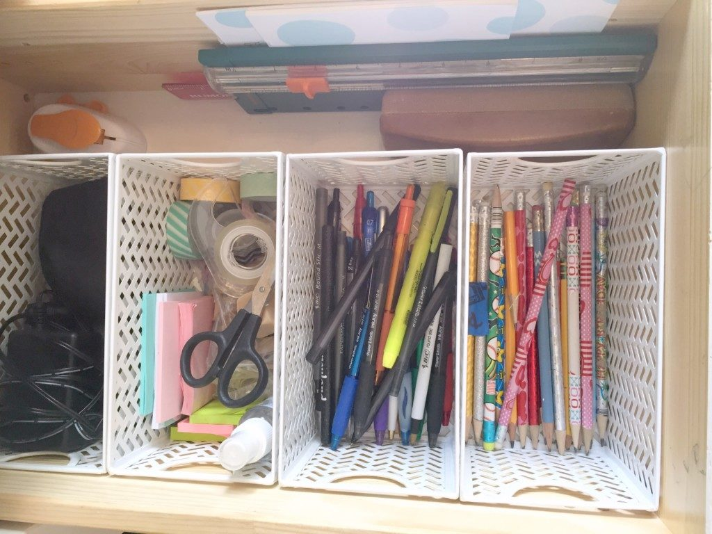 Save your surfaces and organize your junk drawer