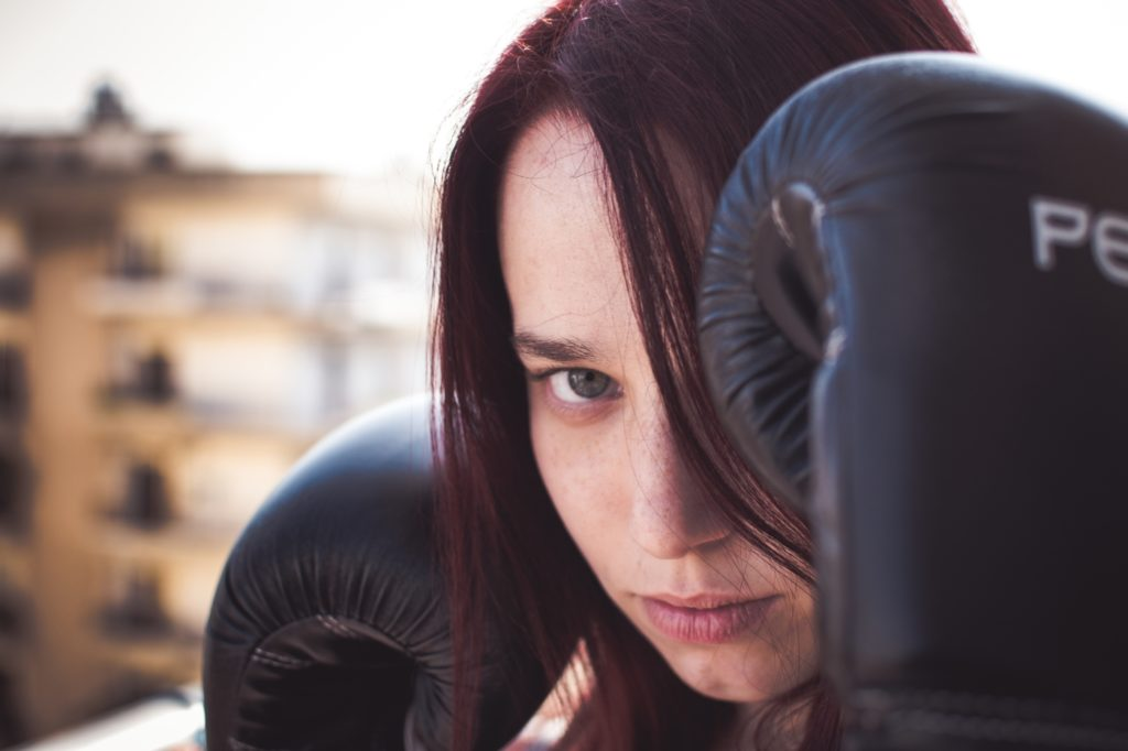 Putting on boxing gloves in conflict