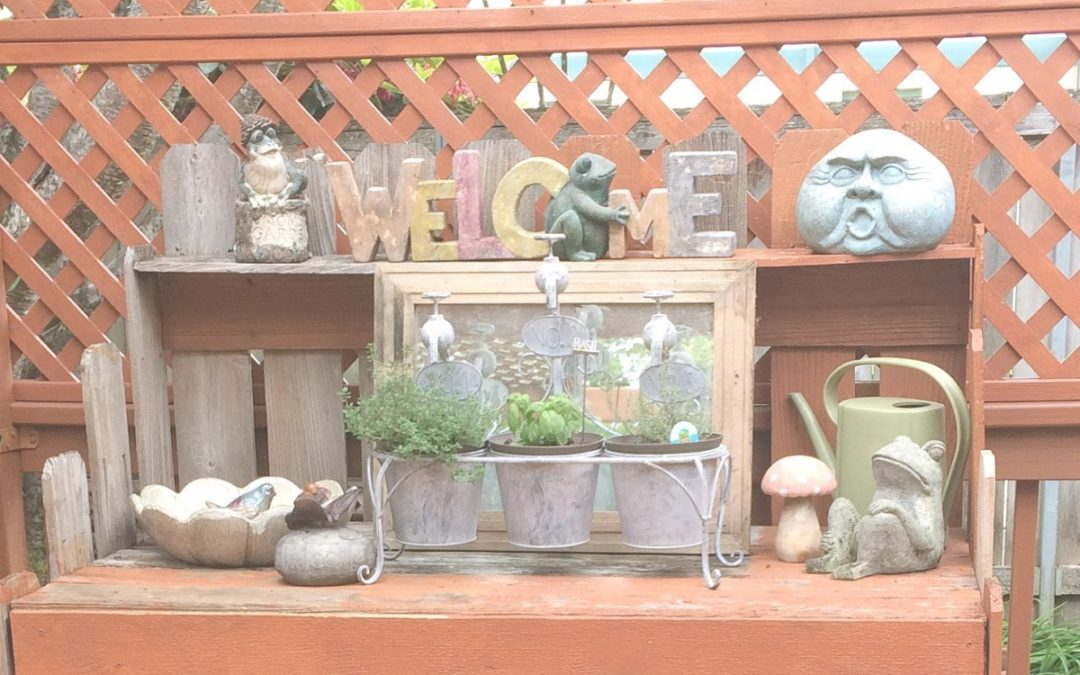 4 C's for Transforming A Cluttered Outdoor Space into a Backyard Respite