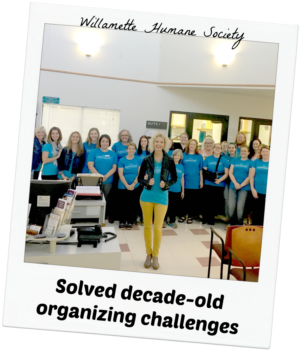 Willamette Humane Society - Solved Decade-Old Organizing Challenges