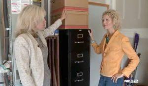 Creative Downsizing - Filing Cabinet